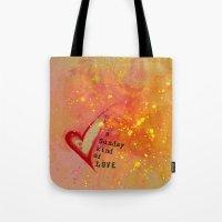 Kristin's Valentine Tote Bag
