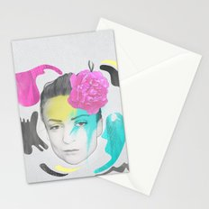 The Queen of Digression Stationery Cards