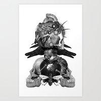 Totem Art Print