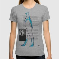 Carl Gustav Jung – Nude.1 Womens Fitted Tee Athletic Grey SMALL