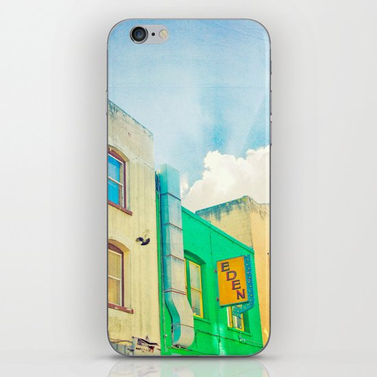 SF Tops 2 iPhone & iPod Skin