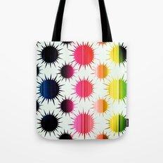 Urchin Pattern Tote Bag