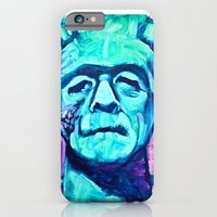 iPhone & iPod Case featuring Frankenstein Halloween Zombie by Smog