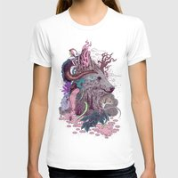 Forest Warden Womens Fitted Tee White SMALL