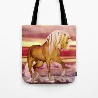 HORSE - Palomino Tote Bag