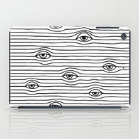 PEEPING TOM [BLK & WHT] iPad Case