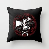 Winchester & Sons Throw Pillow