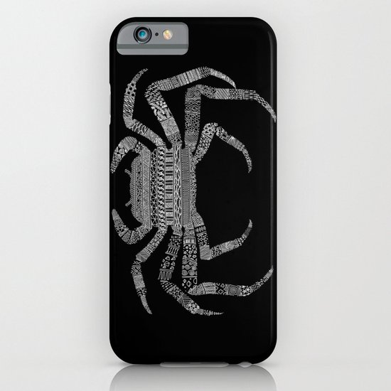 Crab (On Black) iPhone & iPod Case