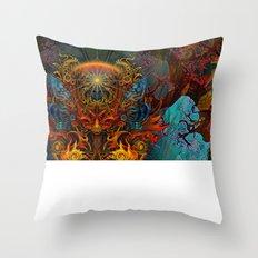 Fire_Fairy Throw Pillow