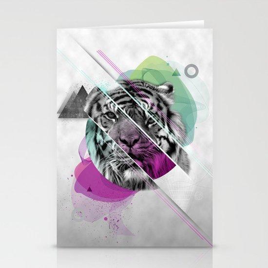 Le tigre Stationery Card