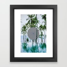 Tropical Trance Framed Art Print