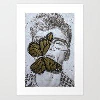 Dave Franco Art Print