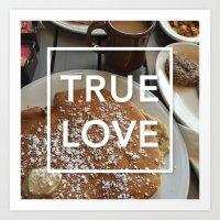 True Love: Breakfast Art Print