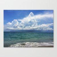 Coming Storm Canvas Print