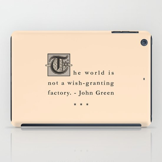 Wish-Granting Factory iPad Case