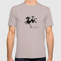 Horse Mens Fitted Tee Cinder SMALL