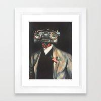 Johnny V, Esq. Framed Art Print