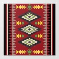 Navajo Pattern 3 Canvas Print