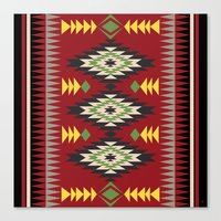 Navajo Pattern 3 Canvas Print