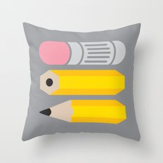 Deconstructed Pencil Throw Pillow