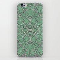 Snowflake Mint iPhone & iPod Skin