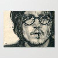 Secret Window Traditiona… Canvas Print