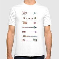 seven arrows Mens Fitted Tee White SMALL