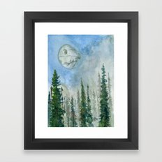 The Endor Morning Sky Framed Art Print