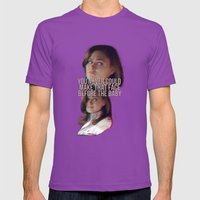 You Never Could Make Tha… Mens Fitted Tee Ultraviolet SMALL