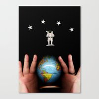 All of Earth and Space Canvas Print