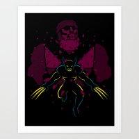 -X- Art Print