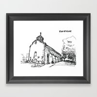 The Church Of Sorrow: Pa… Framed Art Print