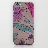 Floral Knit iPhone 6 Slim Case