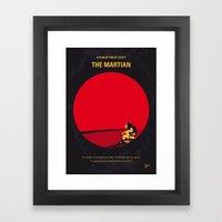 No620 My The Martian Min… Framed Art Print