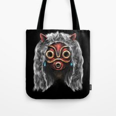 The Wolf Princess Tote Bag