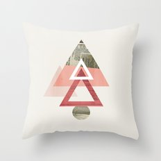 Our Very Modest Christmas Tree Throw Pillow