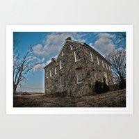 Pylesville House Art Print