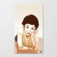 Tautou Canvas Print