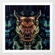 Dog II Art Print