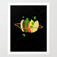Planetary Discovery 8932… Art Print