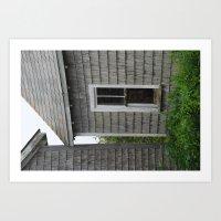 Weathered Window Art Print