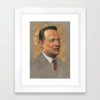 Tom Hanks Framed Art Print