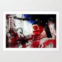 Monitor Art Print