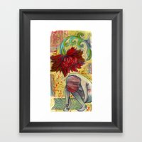 Dream Becoming Framed Art Print