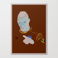 Mario Balotelli - IBWM -… Canvas Print