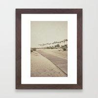 Shoreline Trail Framed Art Print