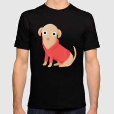 Walter the Chi SMALL Mens Fitted Tee Black