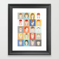Golden Years Framed Art Print