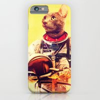 iPhone & iPod Case featuring Captain Cat by rubbishmonkey