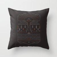 The Navigator Throw Pillow